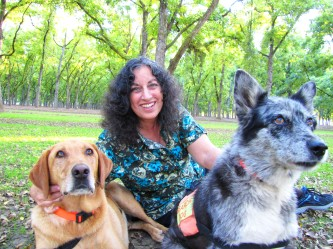 Margarita Engle, hiding so search and rescue dogs can practice finding a lost hiker