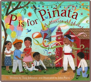 P is for Pinata.Cover