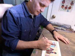 Parra paintbrush