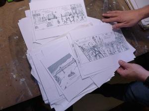 Parra sketches