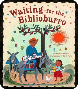 Waiting for the Biblioburro.Cover