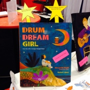 DRUM DREAM GIRL: HOW ONE GIRL'S COURAGE CHANGED MUSIC, written by Margarita Engle and illustrated by Rafael López