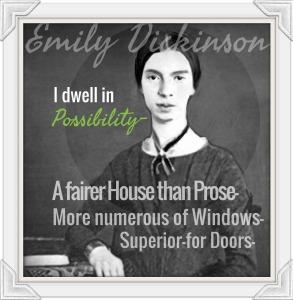Emily D in White