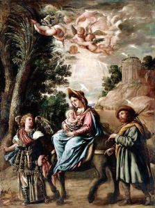 Flight into Egypt, by Juan de Pareja