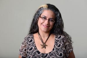 Writer Claudia Melendez in Monterey on Monday January 5, 2015. Photo www.davidroyal.net